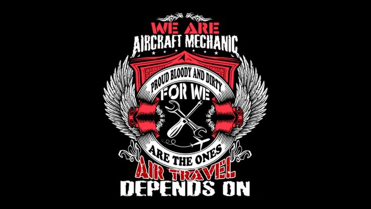 WE ARE AIRCRAFT MECHANICS|AIRCRAFTMECH TEES