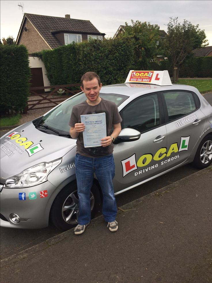 🎊Congratulations🎊  Keith Bulmer who successfully passed his practical driving test today 28th October 2016 in Doncaster 😊 Well done from your instructor Gareth and all the team at Local Driving School 🚘  http://www.localdrivingschool.co.uk/driving-school-doncaster.html