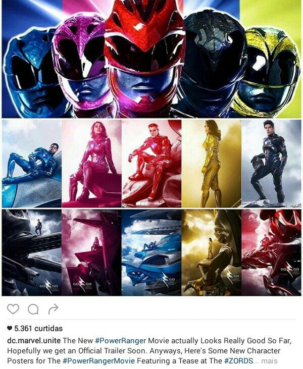 Power Rangers trailer 2017