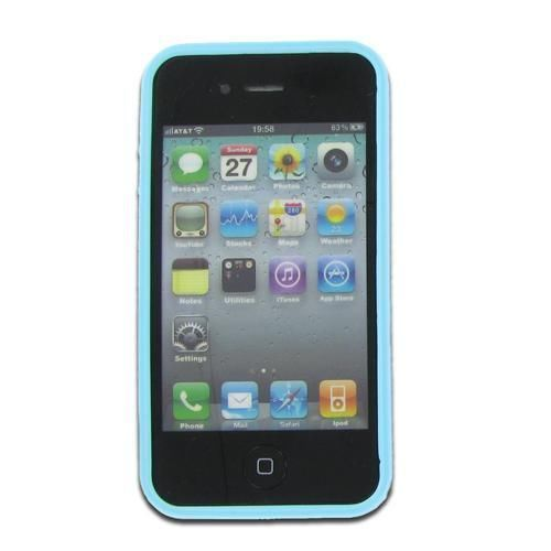 Apple iPhone 4S/ CDMA/ 4 Fusion Candy Cases Purple + Blue TPU-GENERIC #GENERIC 10$ ONLY.BID NOW.ENDING IN 1 HOUR