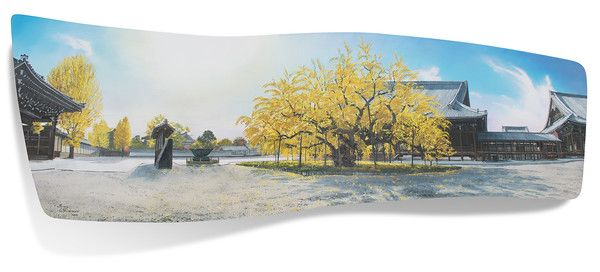 Brian Williams - Autumn Blaze Nishi Honganji - お西さんの秋