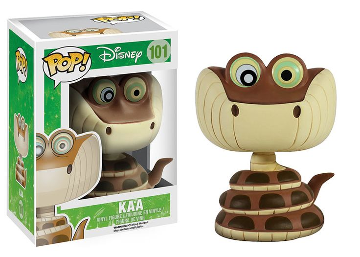 The enormous snake from Disney'sThe Jungle Bookis now a vinyl figure! A fun recreation of the sly snake in the classic animated filmThe Jungle Book, this figure makes a great collectible for Disney fans!