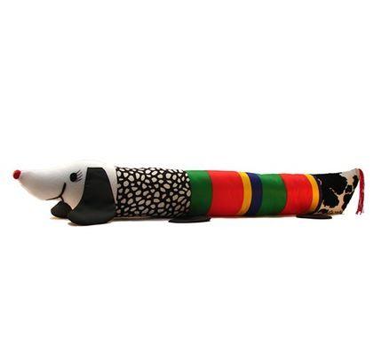 Rollo largo con sonajero, para estimular el oído, la visión, el tacto, el afecto y el gateo.