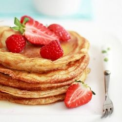 pancakes using nigella lawson's recipe