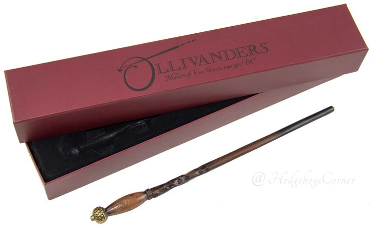 Wizarding World Harry Potter Diagon Alley INTERACTIVE Ollivander Wand Ivy