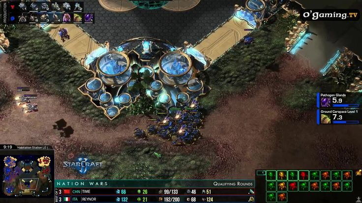 Decent corrosive bile micro from Reynor [Nation Wars 4: China vs Italy] #games #Starcraft #Starcraft2 #SC2 #gamingnews #blizzard