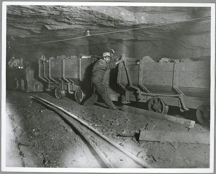 Το αγόρι Γκάρι ήταν υπεύθυνος πέδησης των βαγονιών (1908) Εξόρυξη άνθρακα στη Δυτική Βιρτζίνια