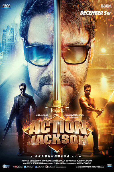 Action Jackson (2014) Movie Poster No. 2