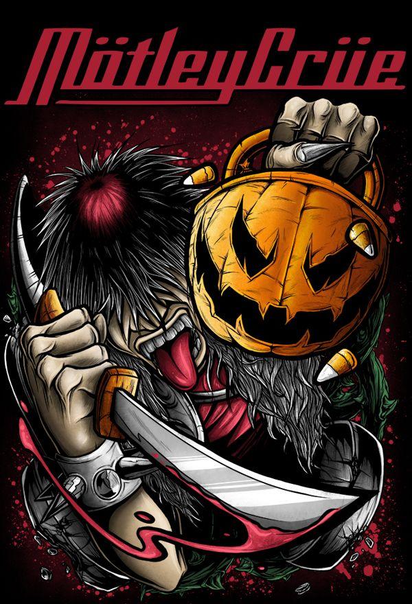Mötley Crüe 2012 Halloween Aleksandr Poltavskiy, via