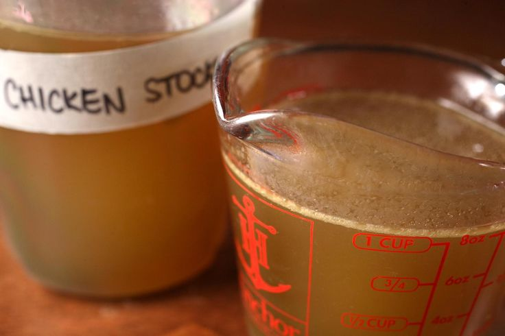 Making your own chicken stock tastes better, and it's as simple as it gets.