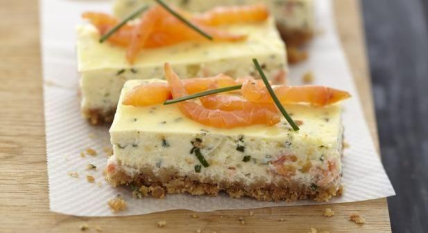 Recette - Cheesecake au saumon fumé et fromage Carré Frais - Notée 5/5 par les internautes