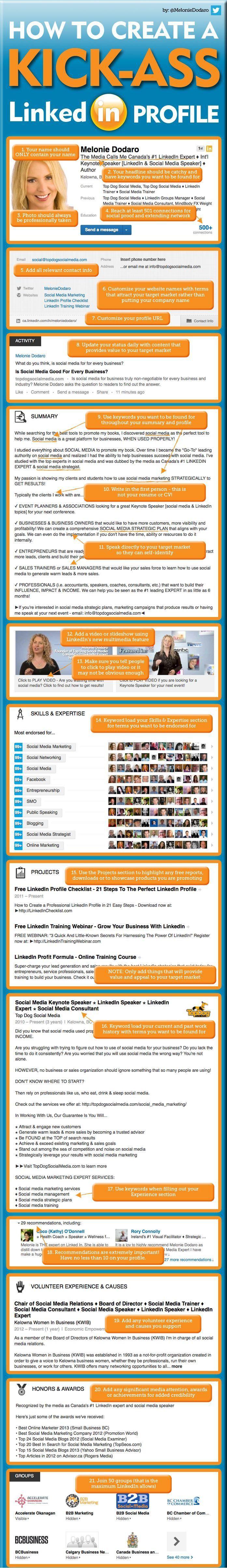 make your #LinkedIn #profile useful | Jobs | Pinterest