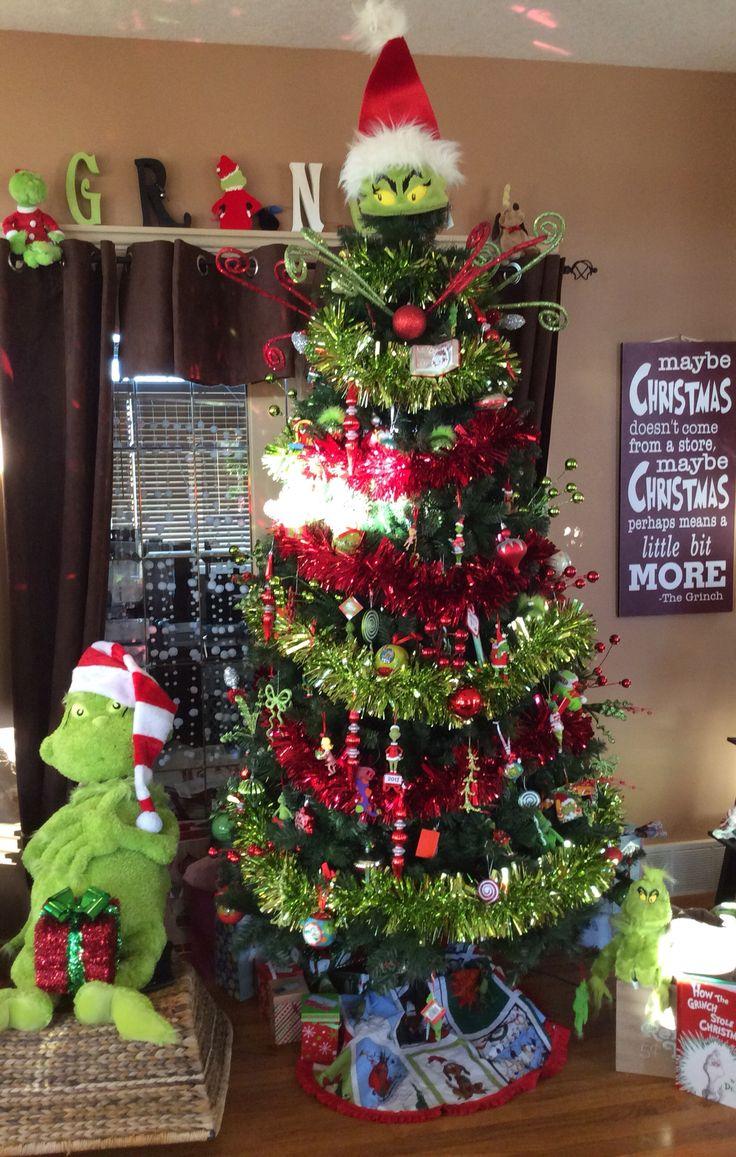 Grinch Tree Grinch Christmas Grinch Christmas Decorations