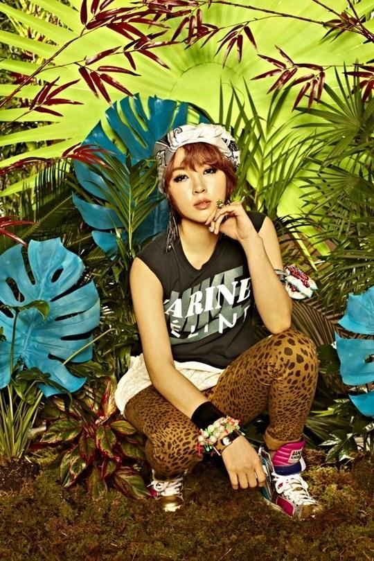 4minute are Queens of the Jungle in New Album Photos | Soompi