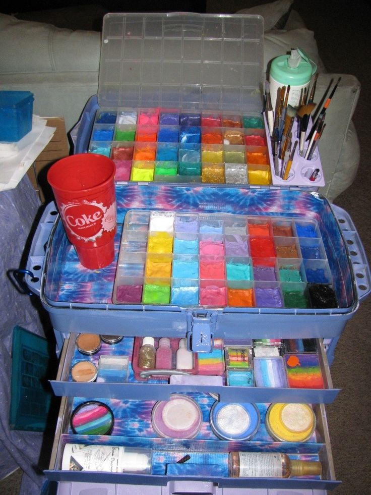 124 best face painting set up images on pinterest face for Face paints supplies