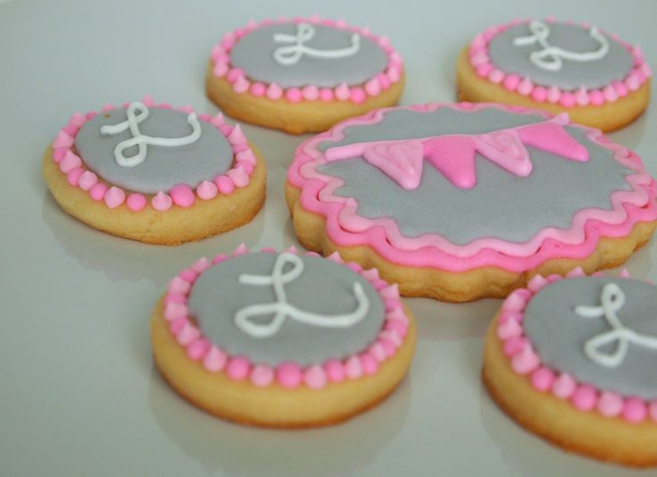 incredible elephant baby shower themed cookies