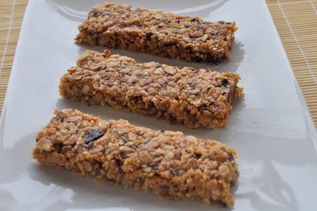 Recette barres de céréales aux flocons d'avoine, cuisinez barres de céréales aux flocons d'avoine