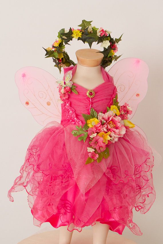 Child Fairy Costume Summer Smiles by TinkersPennyBoutique on Etsy