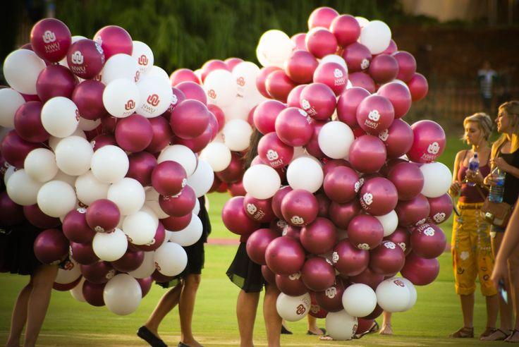 Balonne tydens Varcity Cup 2013