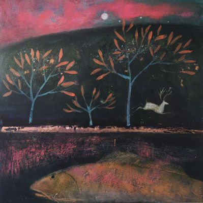 Catherine Hyde I love love this womans work, it has a very special quality and you go on a journey when you see them:-) I hope to get a print as a Xmas present to myself, 'one' day maybe I can get an original:-)