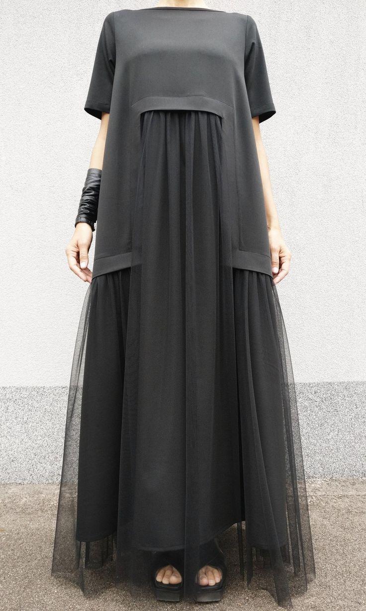 Maxi Extravagantes Tüllkleid A90495   Etsy   – Вечерние платья