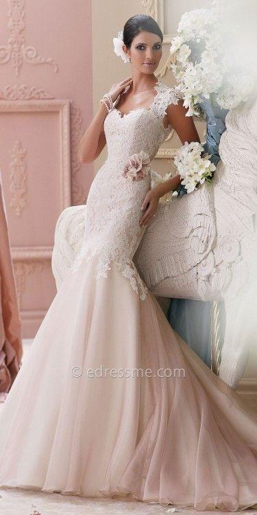 David Tutera for Mon Cheri Bridal Meadow at eDressMe #affiliatelink