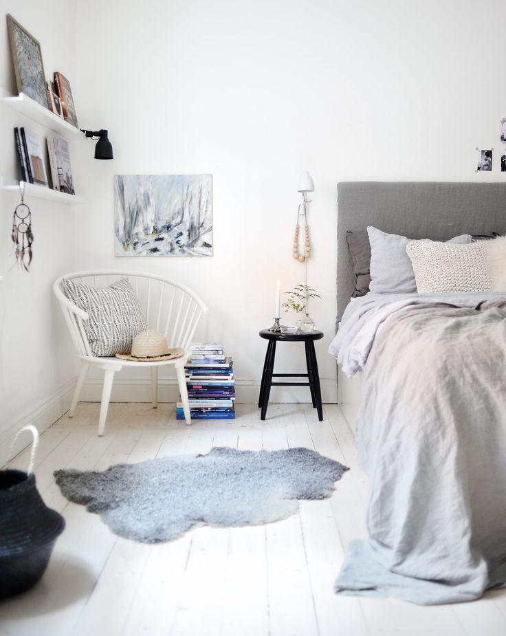 107 kvadratmeter svart-vitt sekelskifte med lekfulla detaljer - Sköna hem