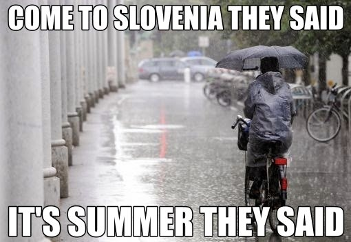 Malo heca za lepši konec tedna. ;) #slovenia