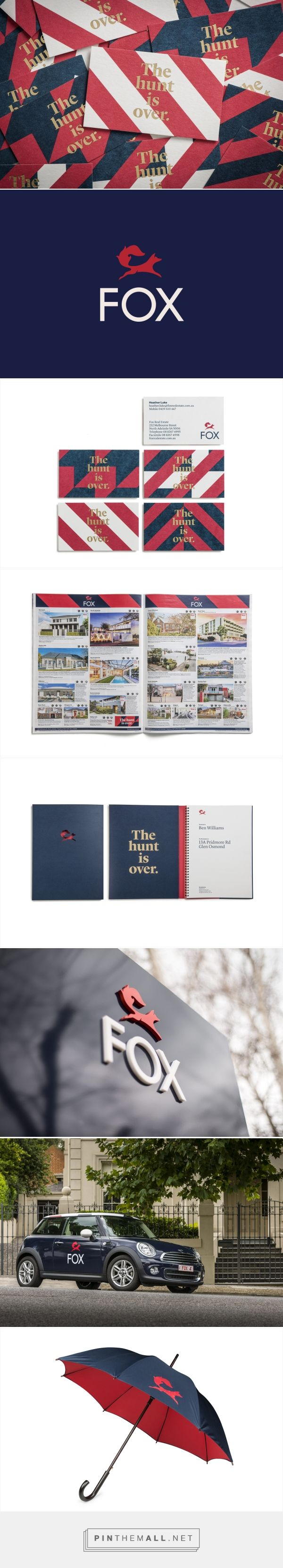 New Brand Identity for Fox Real Estate by Parallax