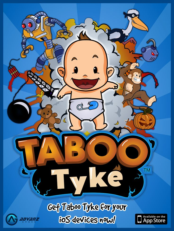 Coming soon on the iPhone - Taboo Tyke is an adventure ...