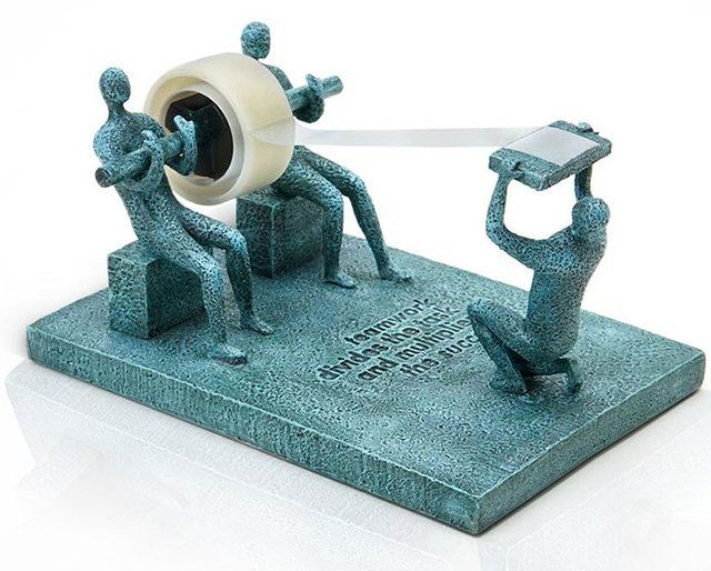 Teamwork Tape Dispenser | by Raluca