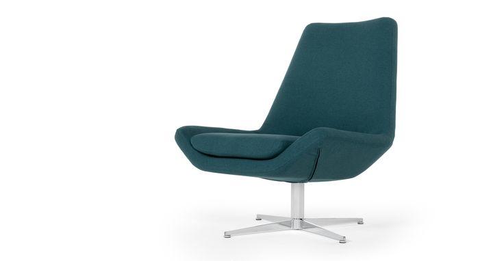 Swivel Chair Mineral Blue Harvey Swivel Chair Chair