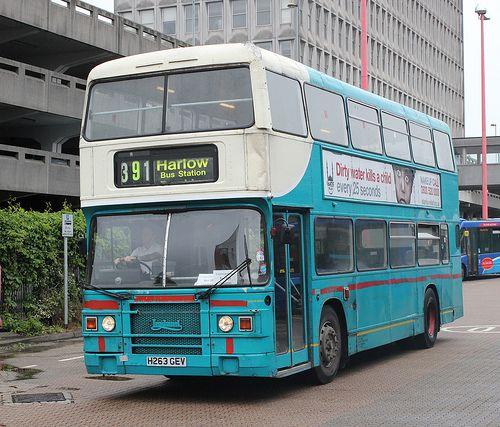 391 at Harlow Bus Station