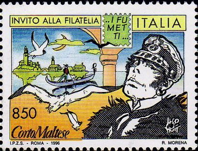 Italy postage stamp. 1996