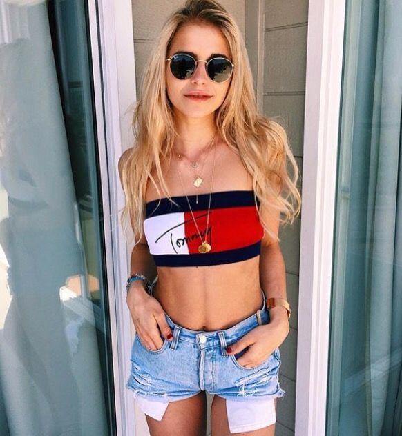 Caroline Daur in Tommy Hilfiger via Instagram
