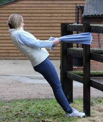 Exercises for horseback riders