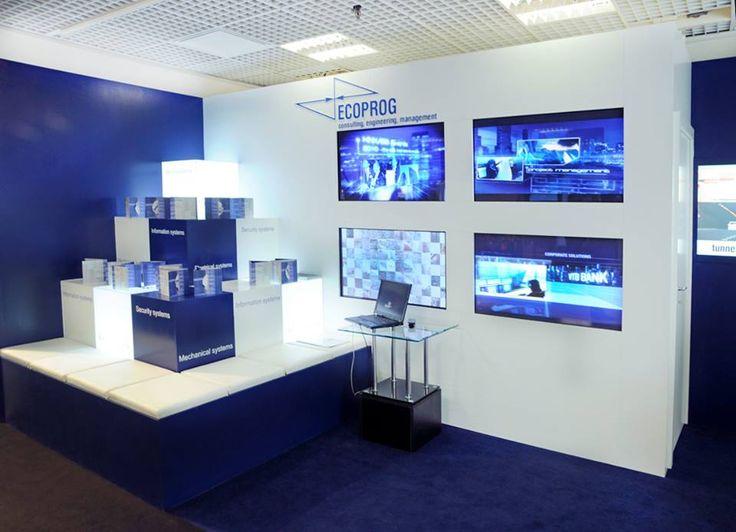 Stand ECOPROG on MIPIM 2014 Cannes #buildup #gc_granat #design #exhibitionbooth