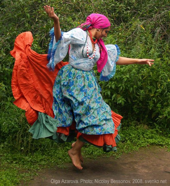 Romani Gypsy Dance, 2008 ~ Photo by Nikolay Bessonov