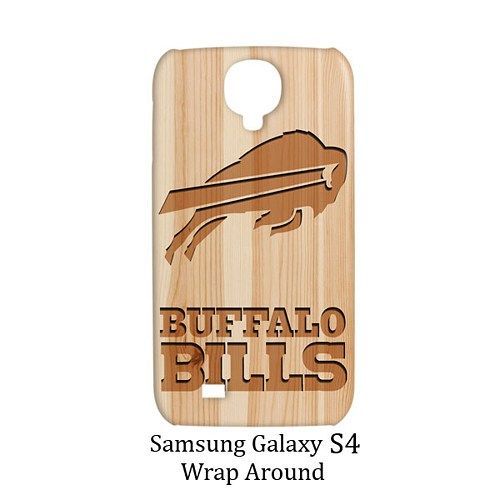 Buffalo Bills Style Wood 2 Case for Samsung Galaxy S4