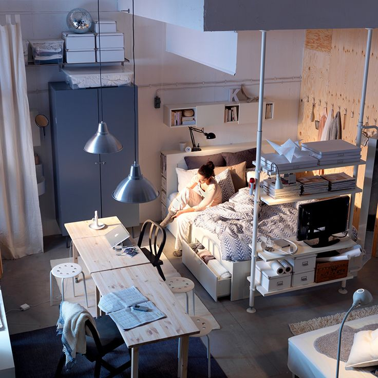 Ikea Bedroom Design And Decorating Ideas 2011 Workspace In Small For Apartment By IKEA Home Designs Pictures