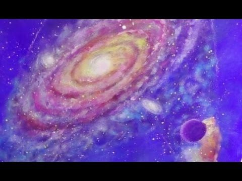 169 best free acrylic painting tutorial videos by angela for Space art tutorial