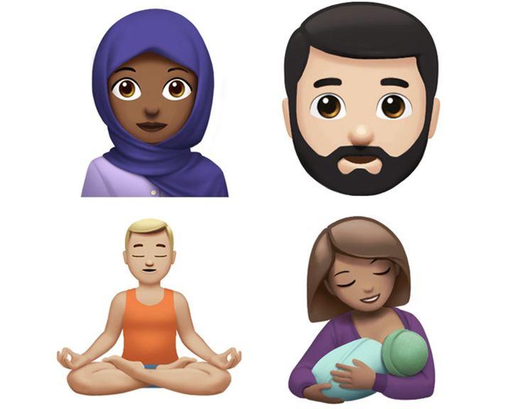 Ragazza con hijab zombie elfo T-Rex: nuove Emoji Apple in arrivo