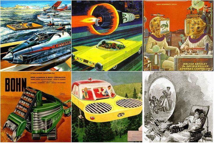 Визуальная фантастика: художники предсказывают технологии будущего