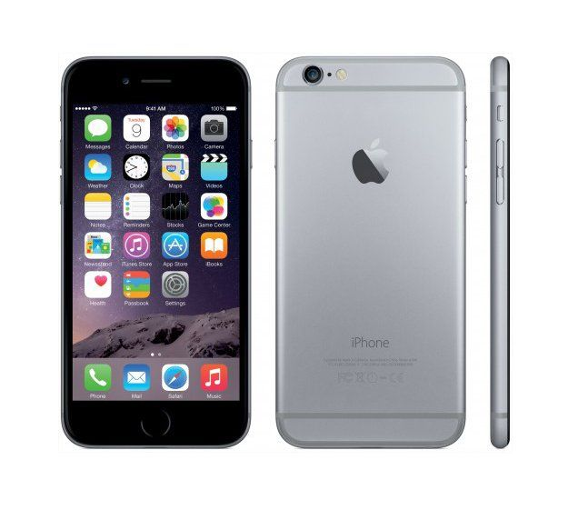 iPhone 6 in Space gray with 16 GB memory. Simply bigger, and better in every way, more powerful, with a smooth design, bigger screen, but fit perfectly in one hand,  smooth metal surface and HD retina display. http://www.zocko.com/z/JJUbn