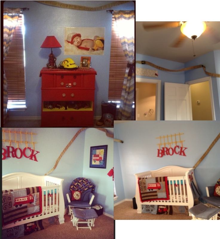 fireman room little boys room fire truck bedroom kiddo