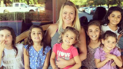 In honor of National Adoption Day on November 19th, take a look at the inspiring story of Lacey Dunkin and the adoption of her 6 daughters.