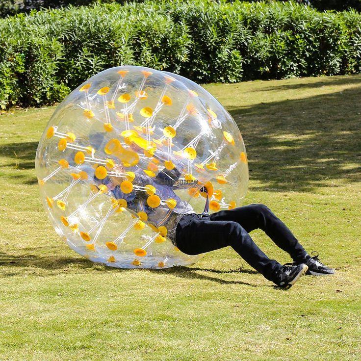 1.5M Inflatable Bumper Ball Human Knocker Ball Bubble Soccer Outdoor Sport Fun