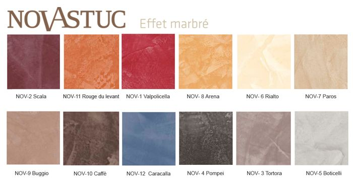 Nova stuc peintures d coratives tollens nuanciers pinterest nova and deco - Peinture stucco video ...