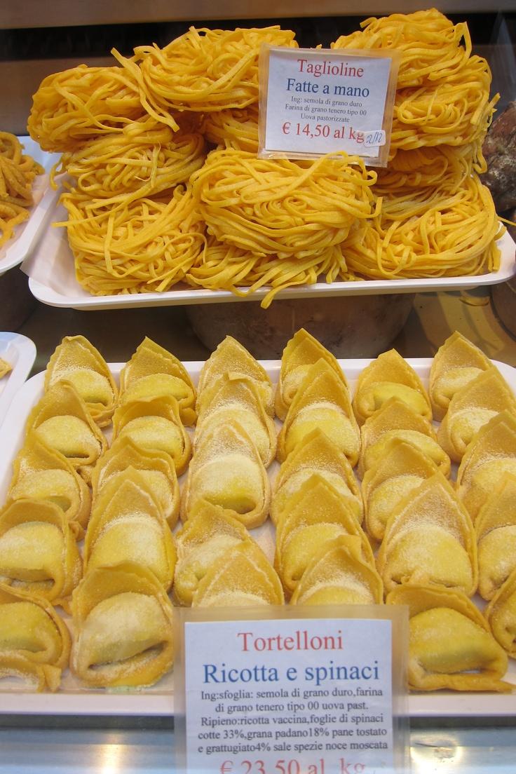 Tortelloni - Tagliatelle - Bologna - Italy