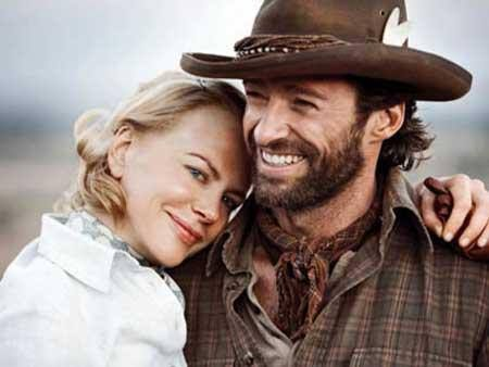 Nicola Kidman and Hugh Jackman star in Australia